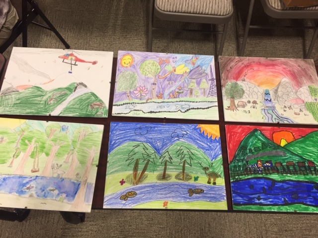 More beautiful works of art from our local students.