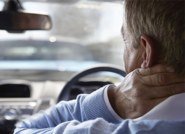 Whiplash refers to the rapid snapping back of a person's head during a collision, which hyperextends the neck and damages nerves and ligaments, often resulting in chronic symptoms such as persistent pain and lack of mobility