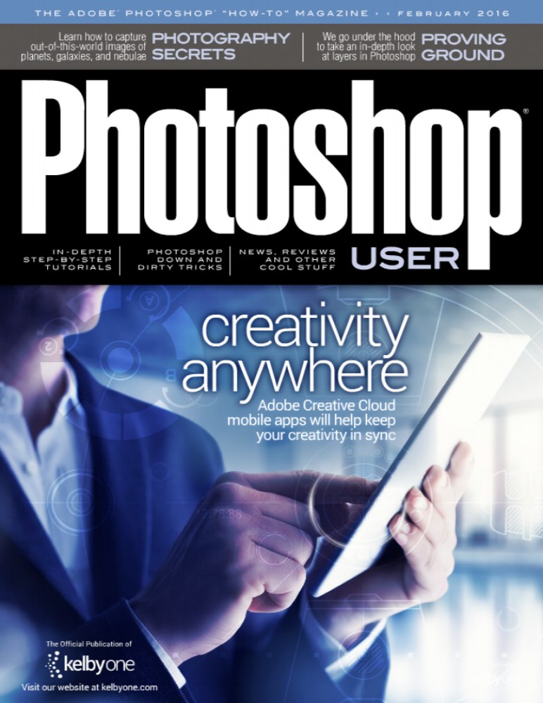 KELBYONE PHOTOSHOP MAGAZINE with Antonio Martez | Fashion & Beauty Photographer | NYC