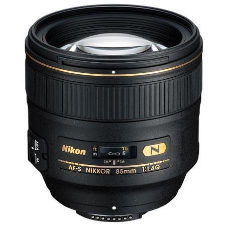Nikon 85mm f/1.4G Nikkor Lens