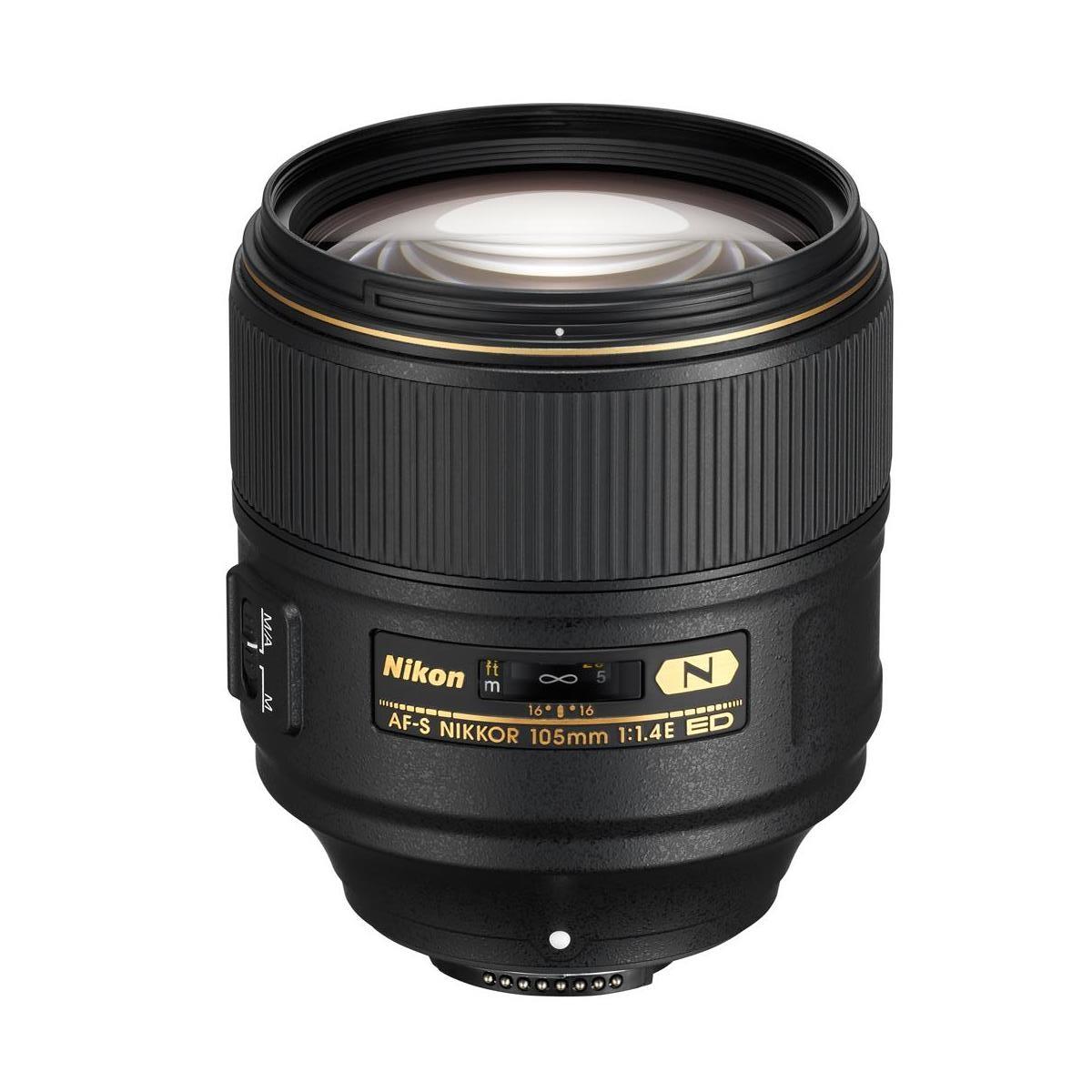 Nikon 105mm f/1.4E ED Nikkor Lens