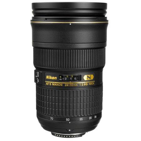Nikon 24-70mm f/2.8G ED Nikkor Lens