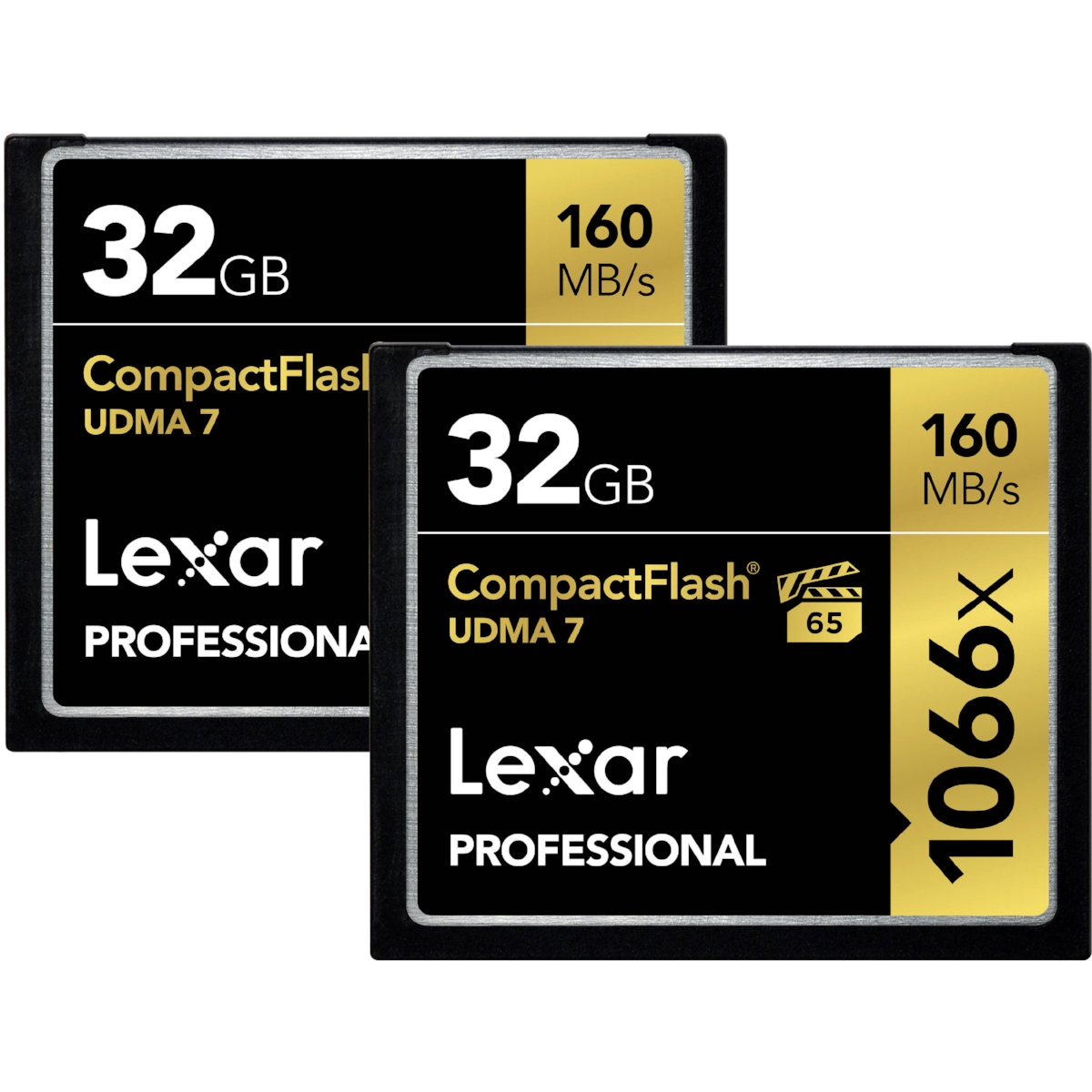 NIKON D810 - Lexar Professional 1066X CF Card - 32gb, 64gb, and 128gb - (Lexar Discontinued Memory Cards)