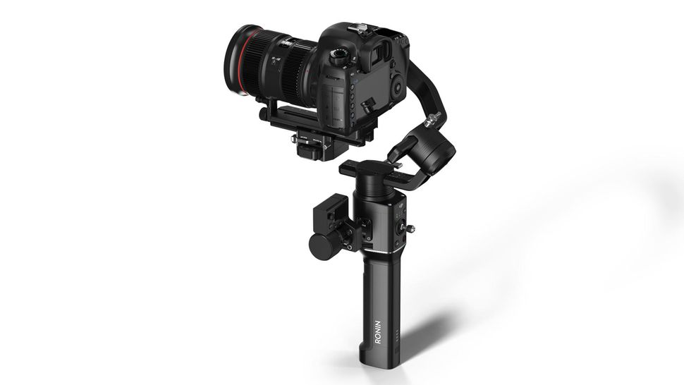 DJI Ronin-S for DSLR and mirrorless cameras.
