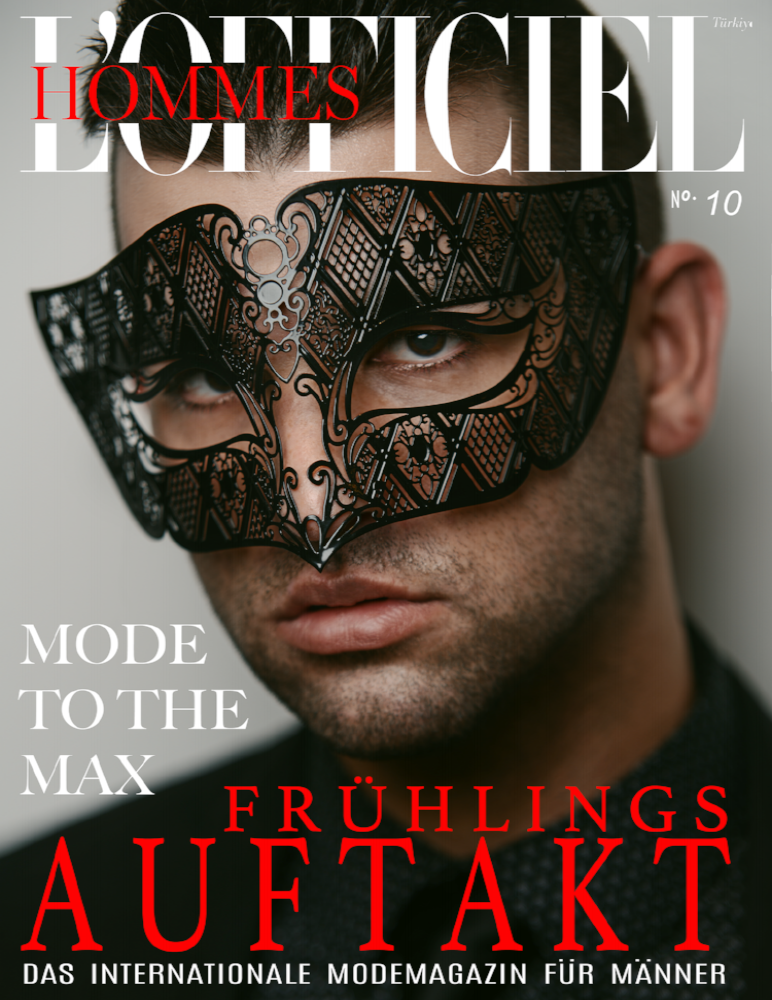 L'OFFICIEL HOMMES MAGAZINE with Antonio Martez | Fashion & Beauty Photographer | NYC