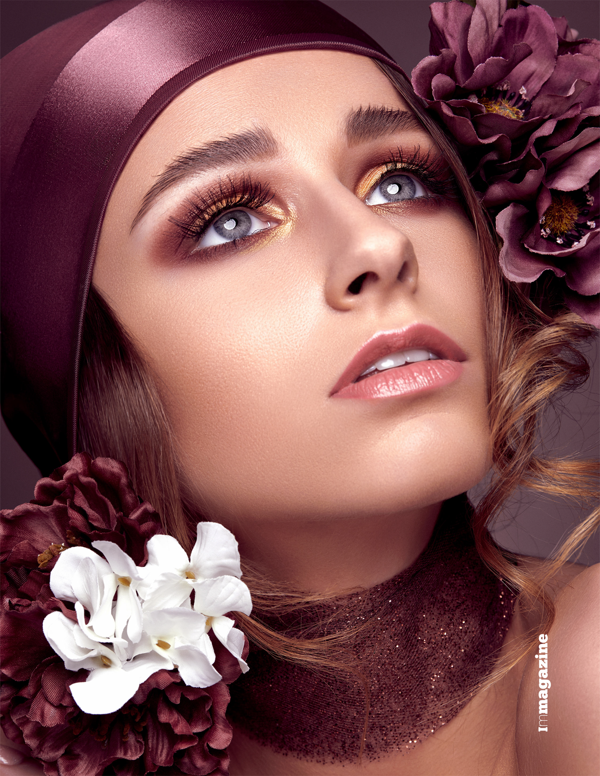 IMIRAGE MAGAZINE - SEPTEMBER 2018   Madame Periwinkle beauty editorial by Antonio Martez, New York Fashion and Beauty Photographer, was featured in the September 2018 edition of Imirage Magazine. The editorial was a Cover & Feature Spread for that edition.
