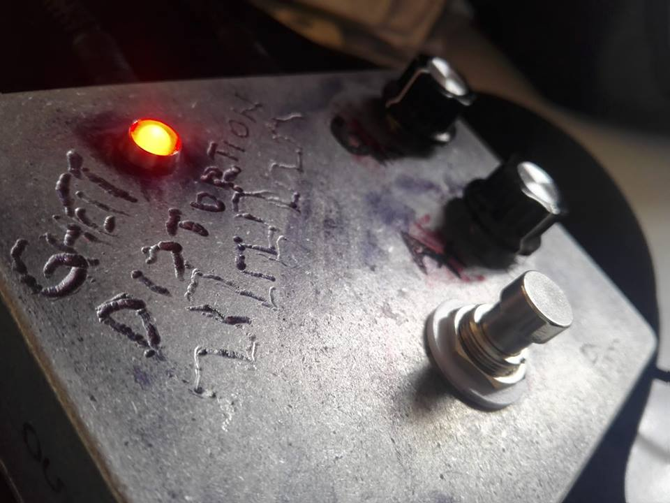 Primer prototipo funcional del Ghetto Distortion - Pmartin.