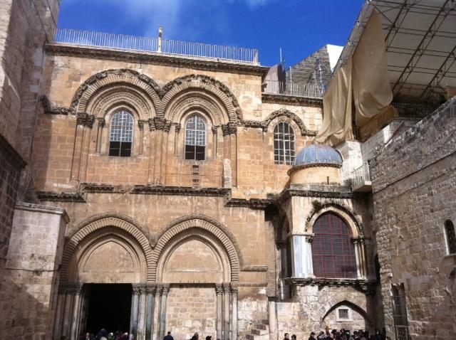 Where Jesus was crucified.JPG