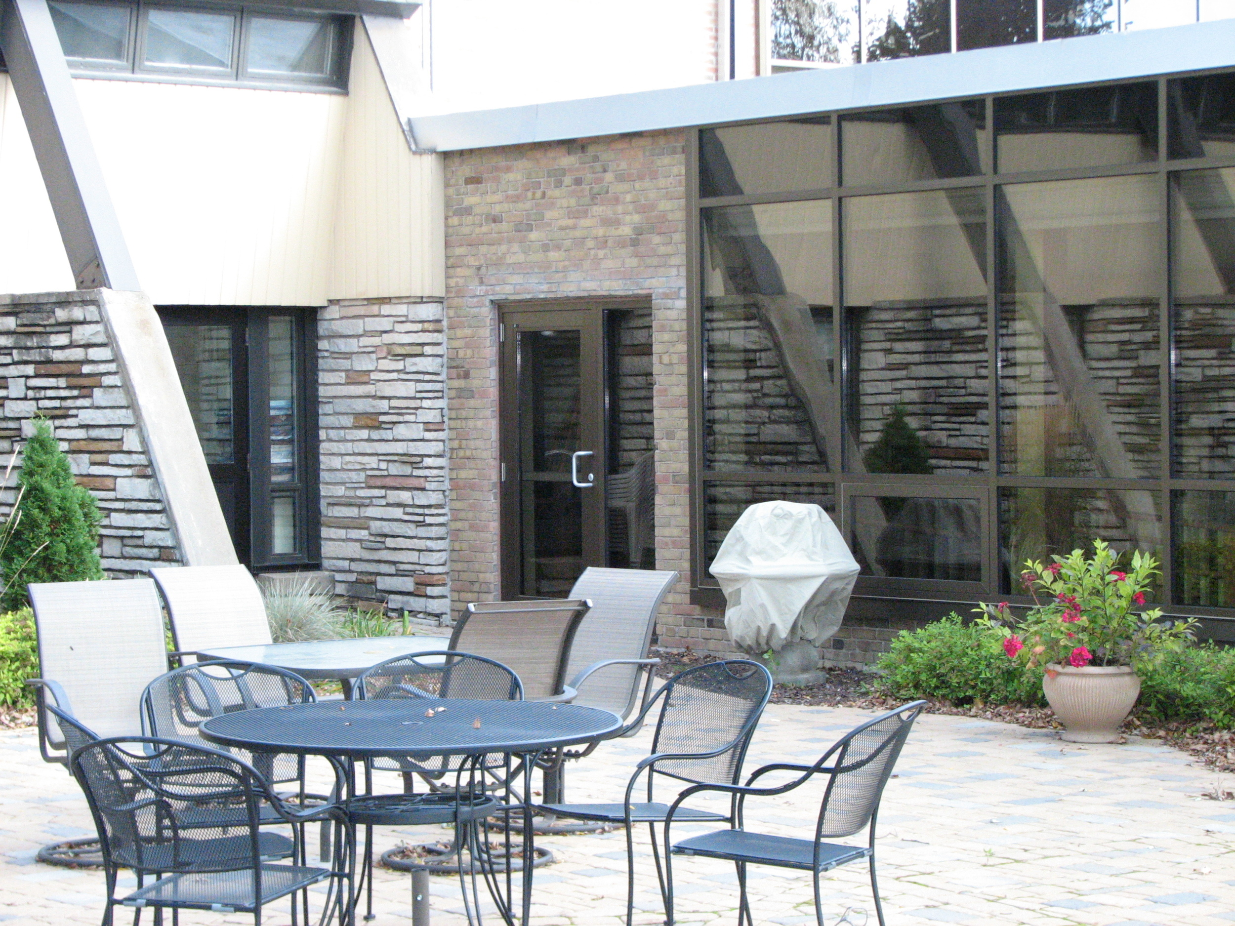 VCPC patio space