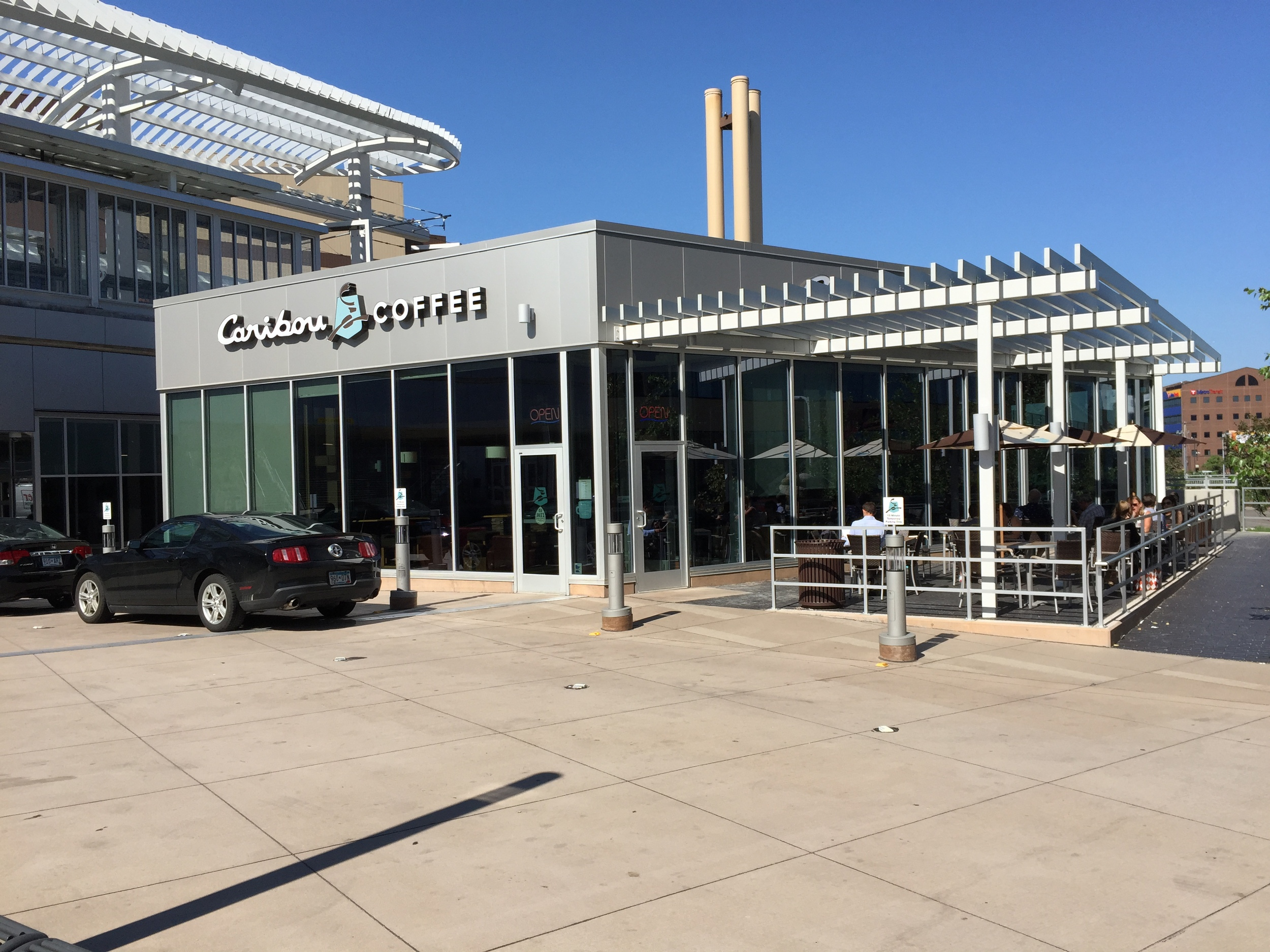 Caribou Coffee, Target Field Station, Minneapolis, MN