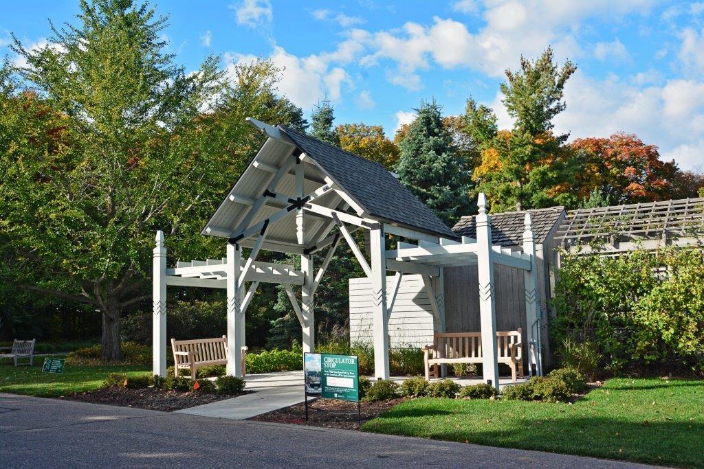 UMN Landscape Arboretum 3-Mile Drive Rest Stops
