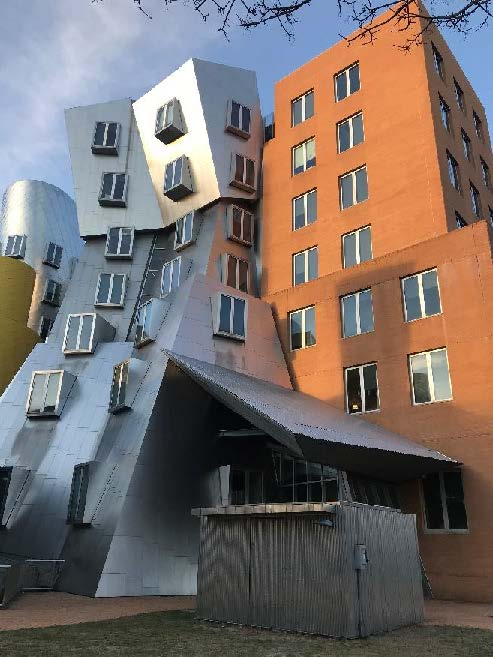 Frank Gehry's building on MIT Campus