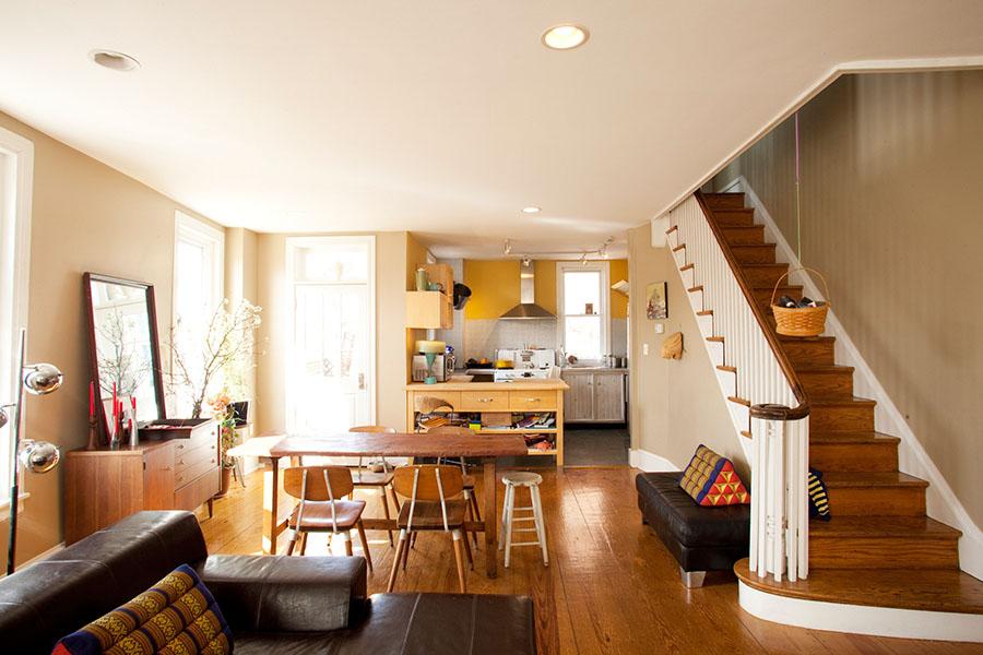 Philadelphia Row Homes Architecture And Interior Design In Philadelphia Ennis Nehez