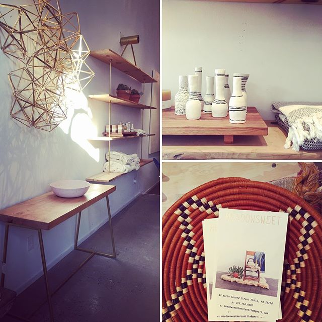 Visit to my favorite shop in town - Meadowsweet Mercantile. Check them out on 2nd Street.  #oldcityshop #boutique #design