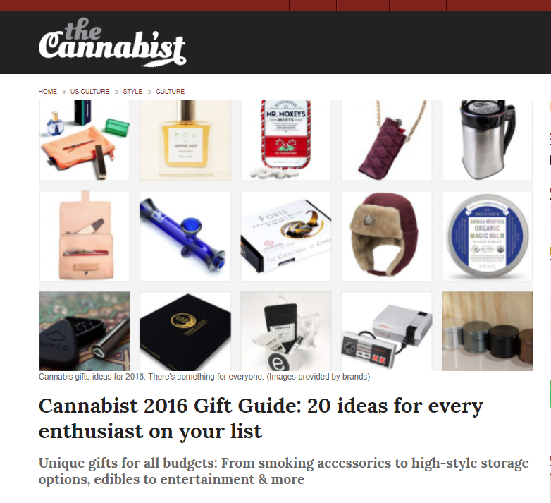 The Cannabist Gift Guide