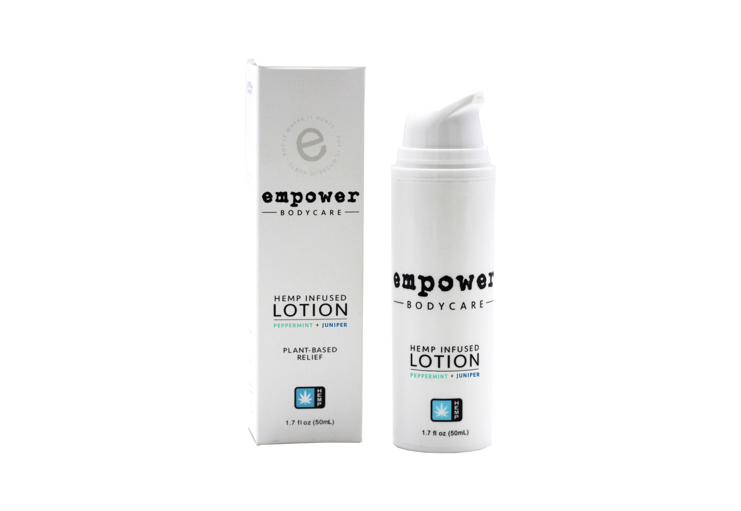Empower Topical Relief Lotion with Box PJ Hemp.jpg