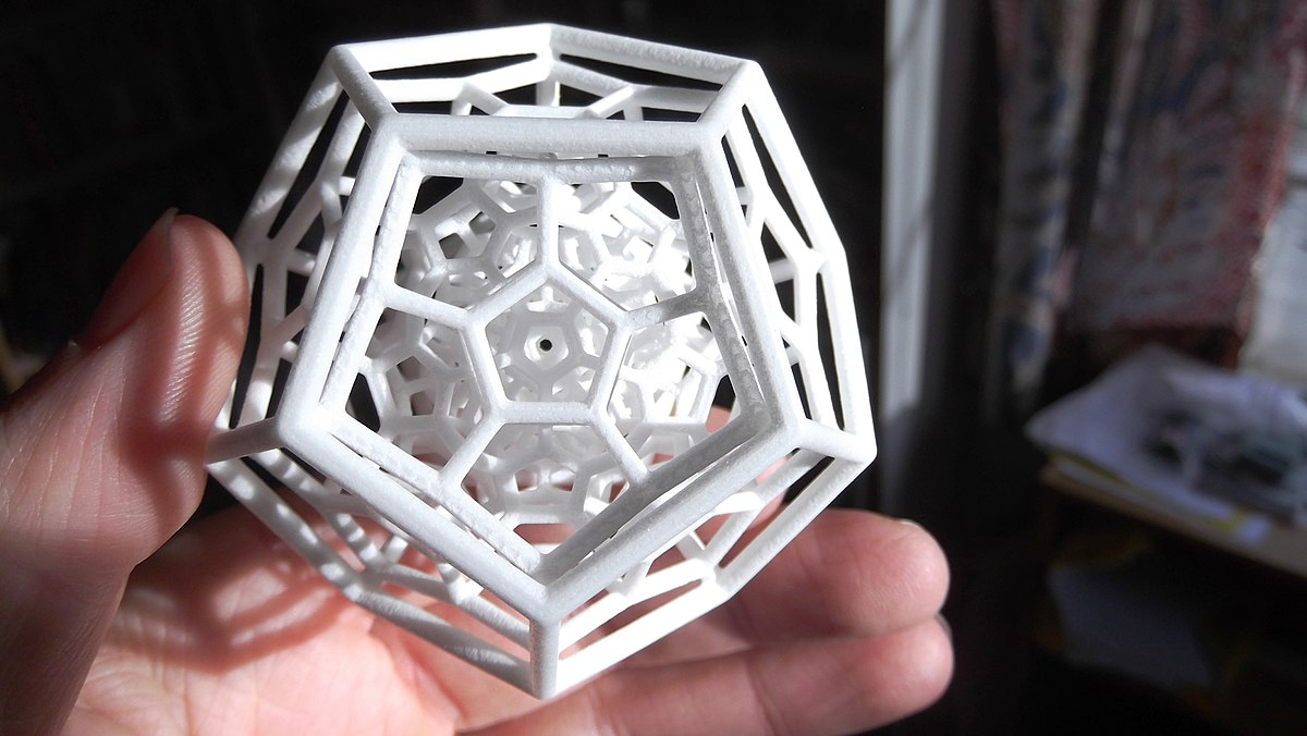 A complex 3D printed object. (Source: Brewbooks from near Seattle, USA)