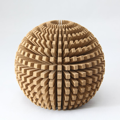 Wood is an option for SLS 3D printing. (Source: http://bit.ly/2wXZ6II)