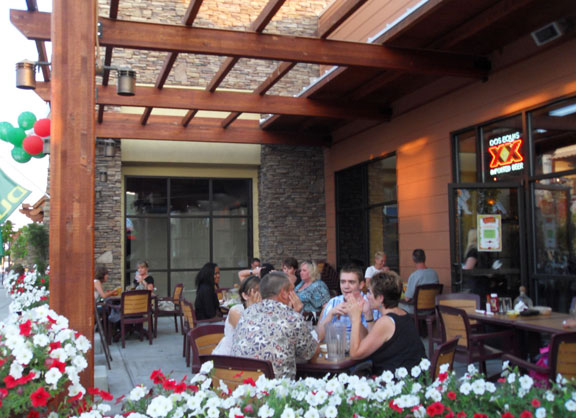 Everybody LOVES our patio!