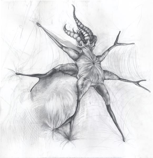 Exploding Synapse (life drawing)
