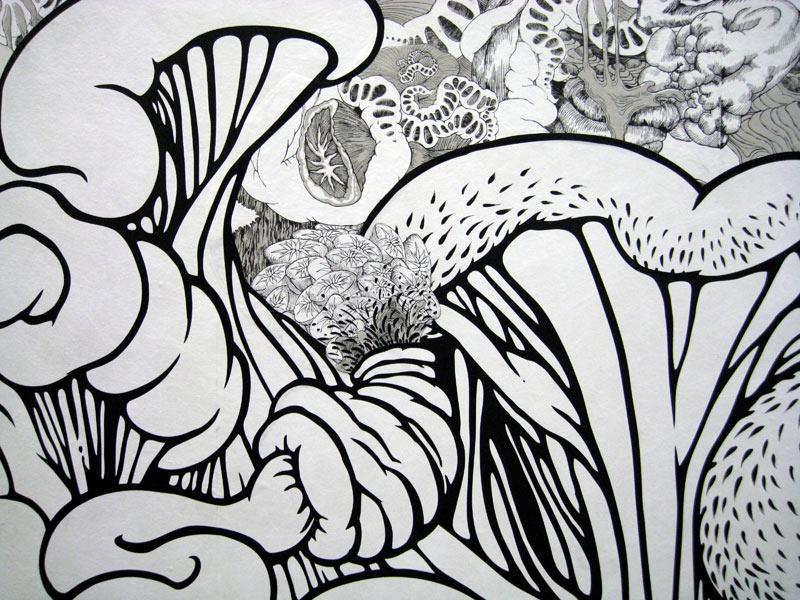 Swallow (detail)