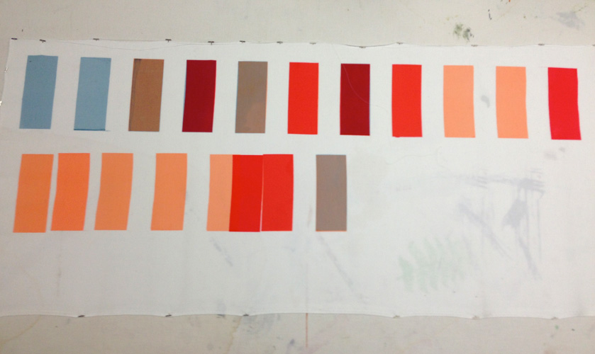 Color swatches for Run Forever