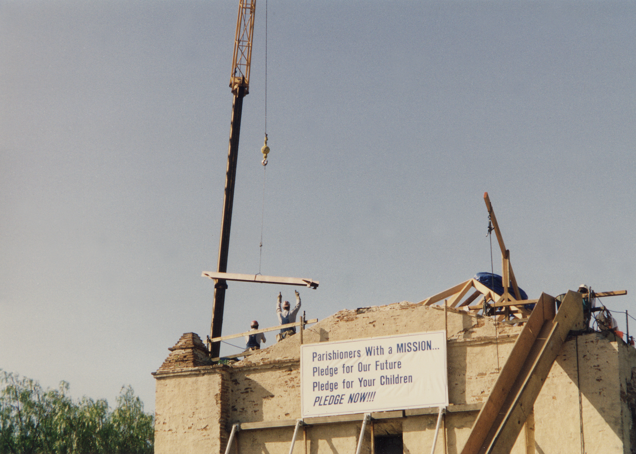 Installation of steel bracing at roof.jpg