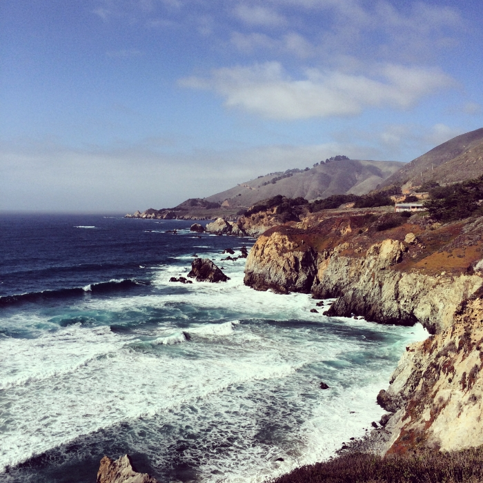 Visiting Big Sur in NoCal
