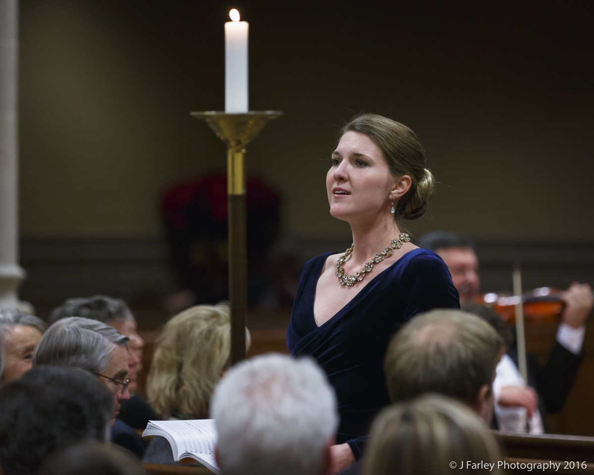 Handel's Messiah with Robert Moody and the Winston-Salem Symphony, 2016