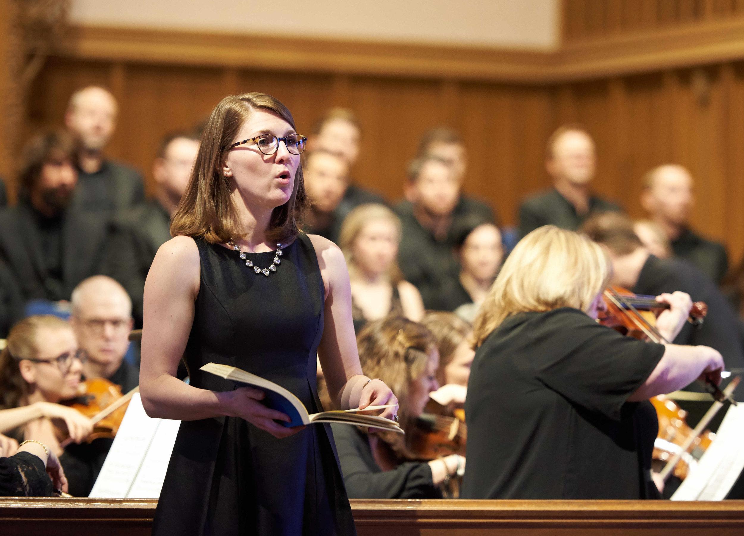 B minor Mass with Bach Akademie Charlotte, Charlotte Bach Festival 2018