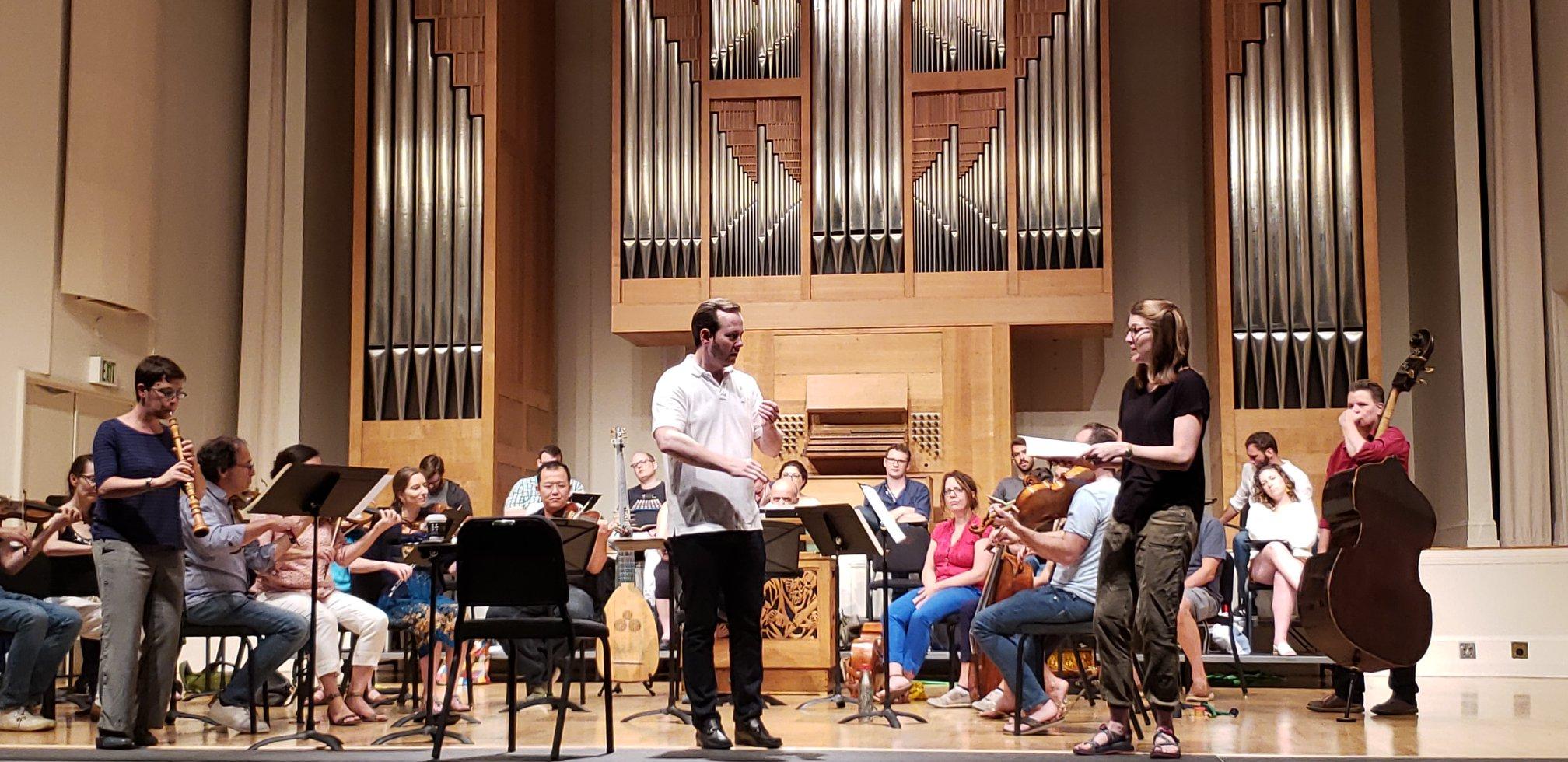 BWV 105 with Debra Nagy, Scott Allen Jarrett, and Oregon Bach Festival Orchestra, 2018