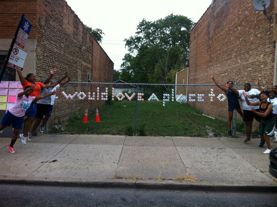 """I would love a place to..."" - Picture by Alex Gilliam,  Public Workshop"