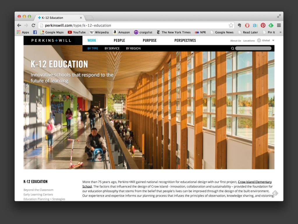Perkins+Will Website