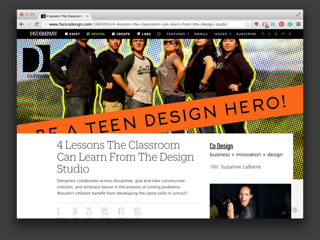 Fast Co Design - 2012