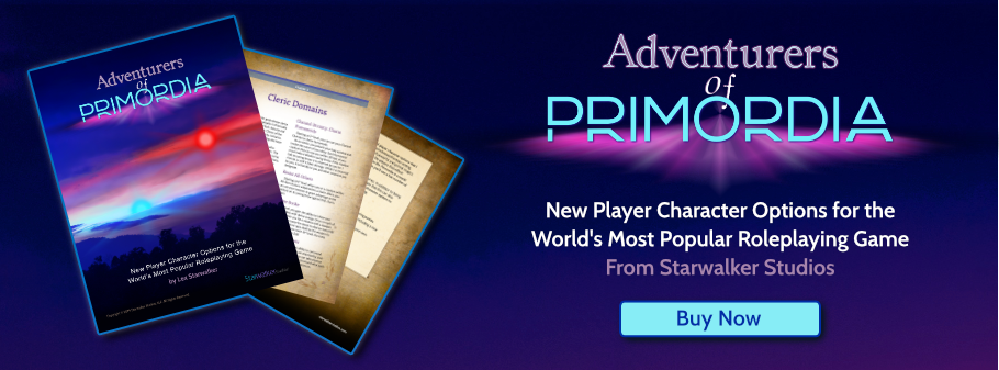 Check out Lex's latest D&D supplement filled with new character options!
