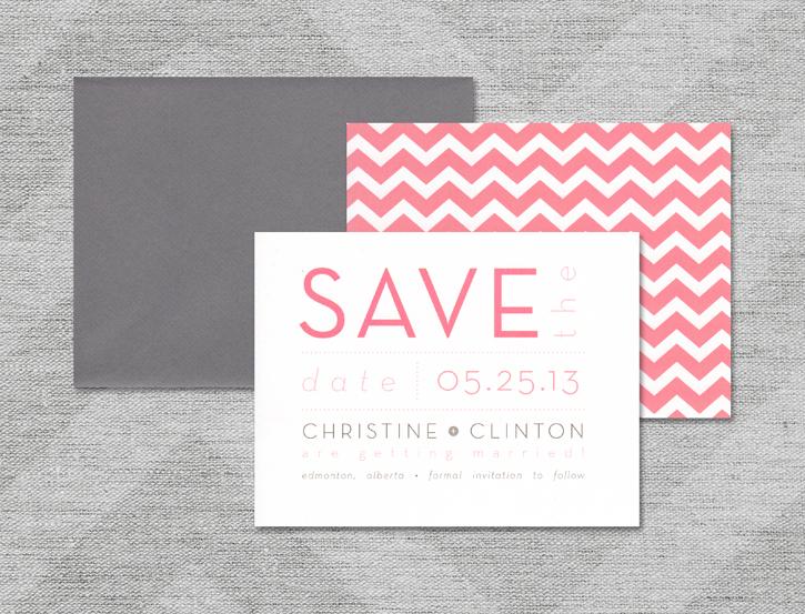 Save the Date :: Christine Design