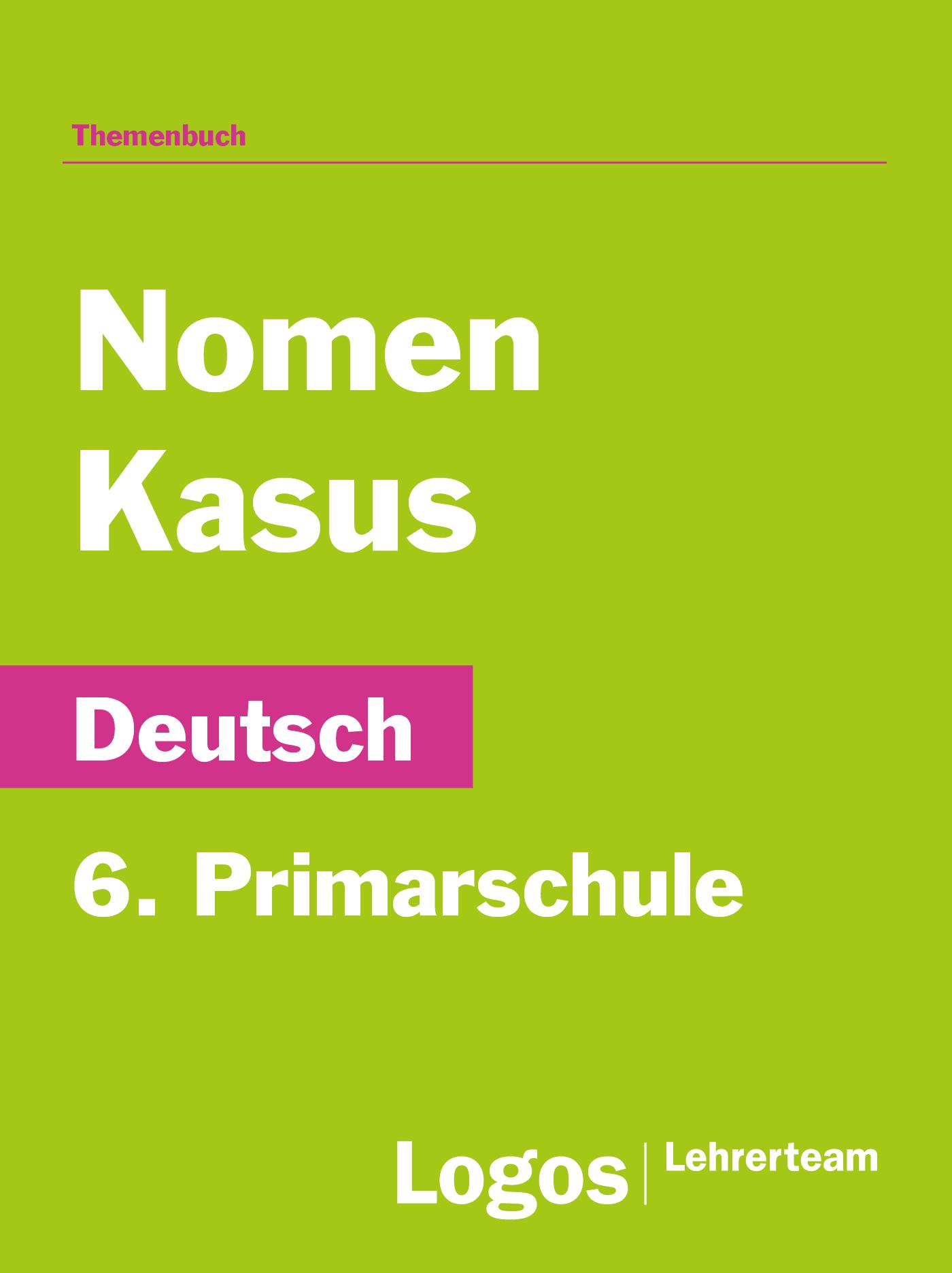 Nomen und Kasus - 6. Primar