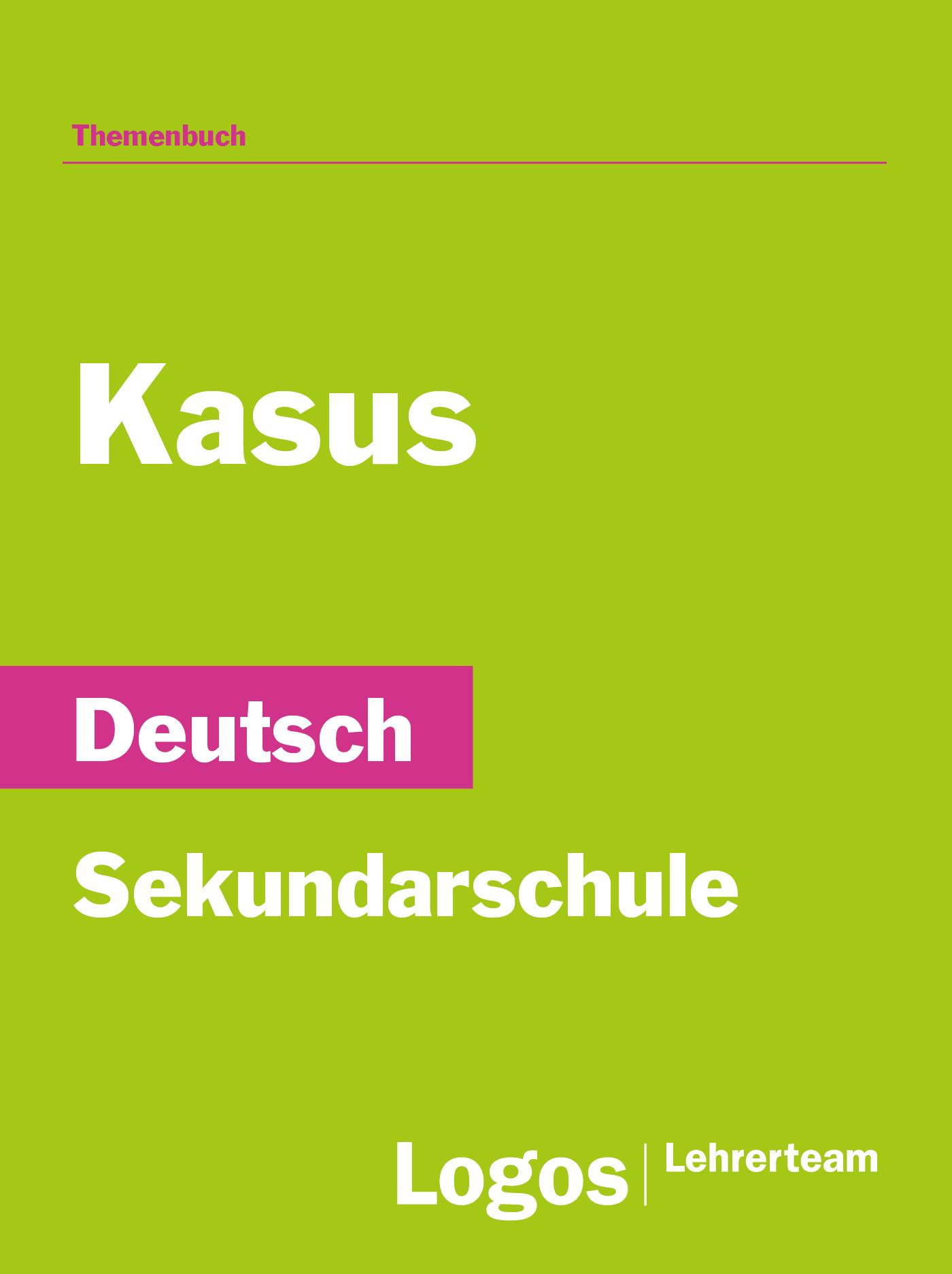 Deutsch Kasus - Sekundar