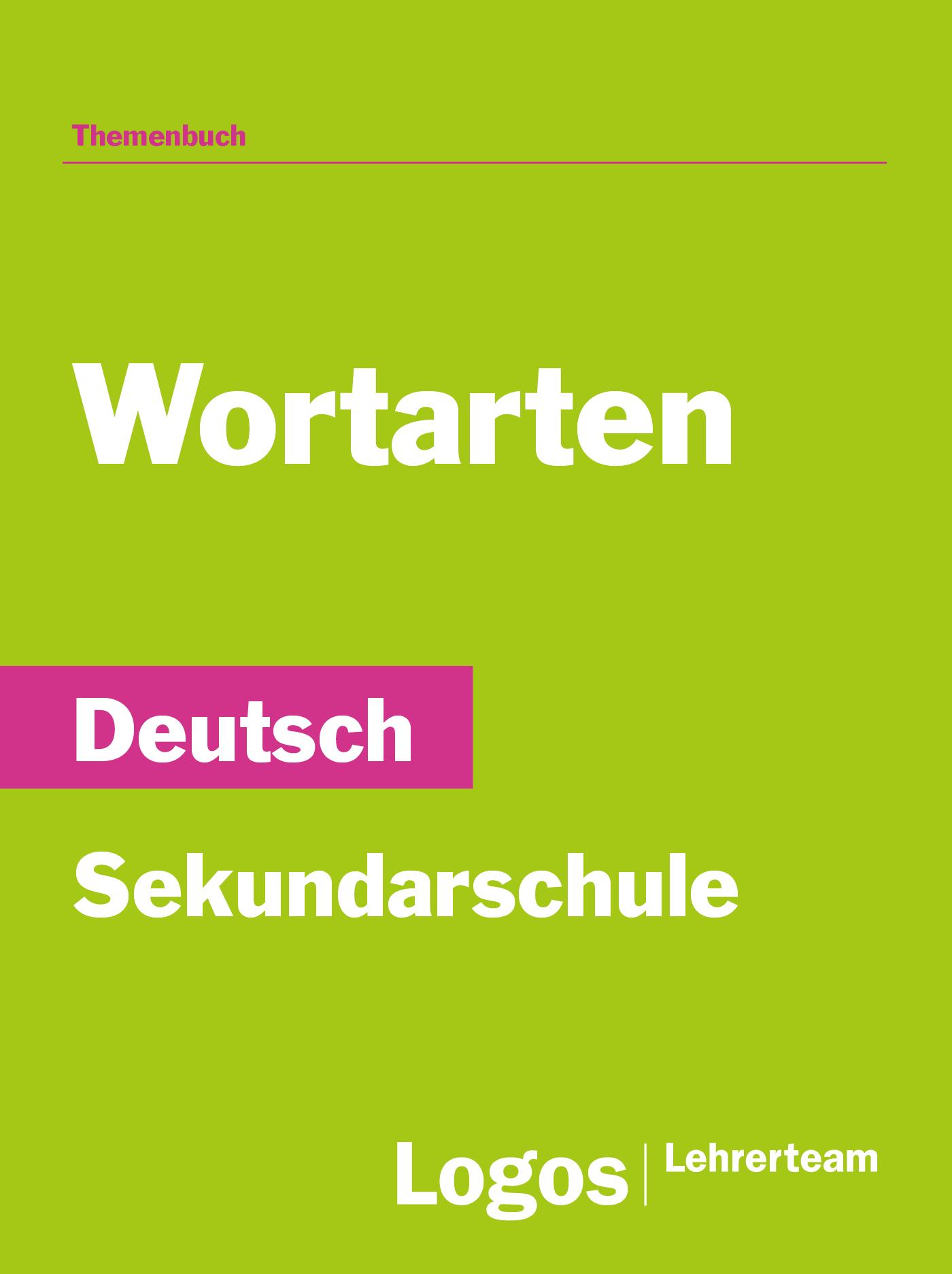 Deutsch Wortarten - Sekundar