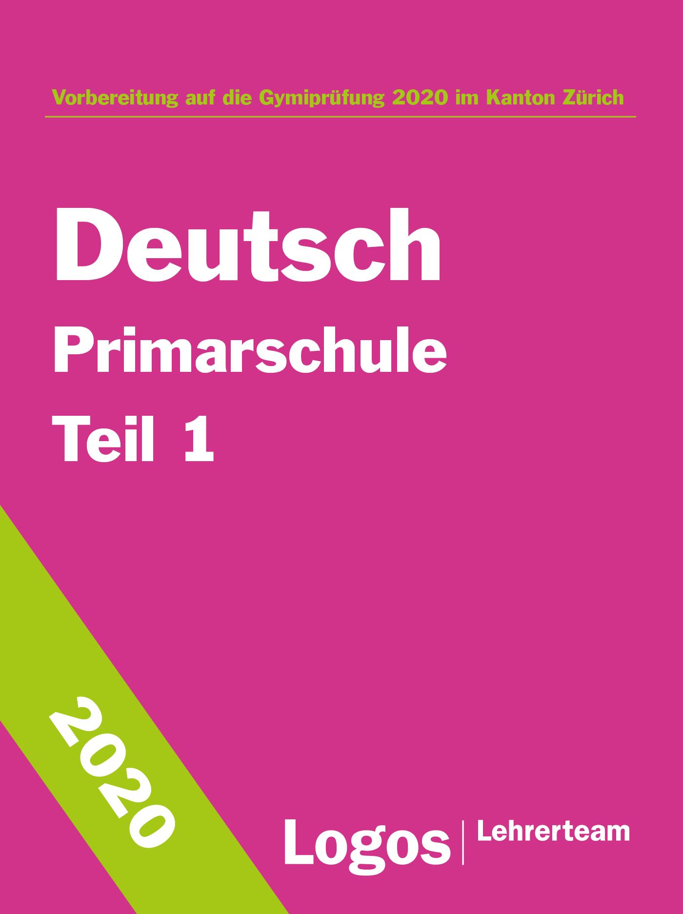 Gymivorbereitung Primar Deutsch Teil 1