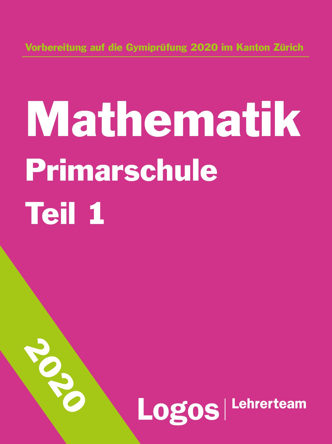 Gymivorbereitung Primar Mathematik Teil 1