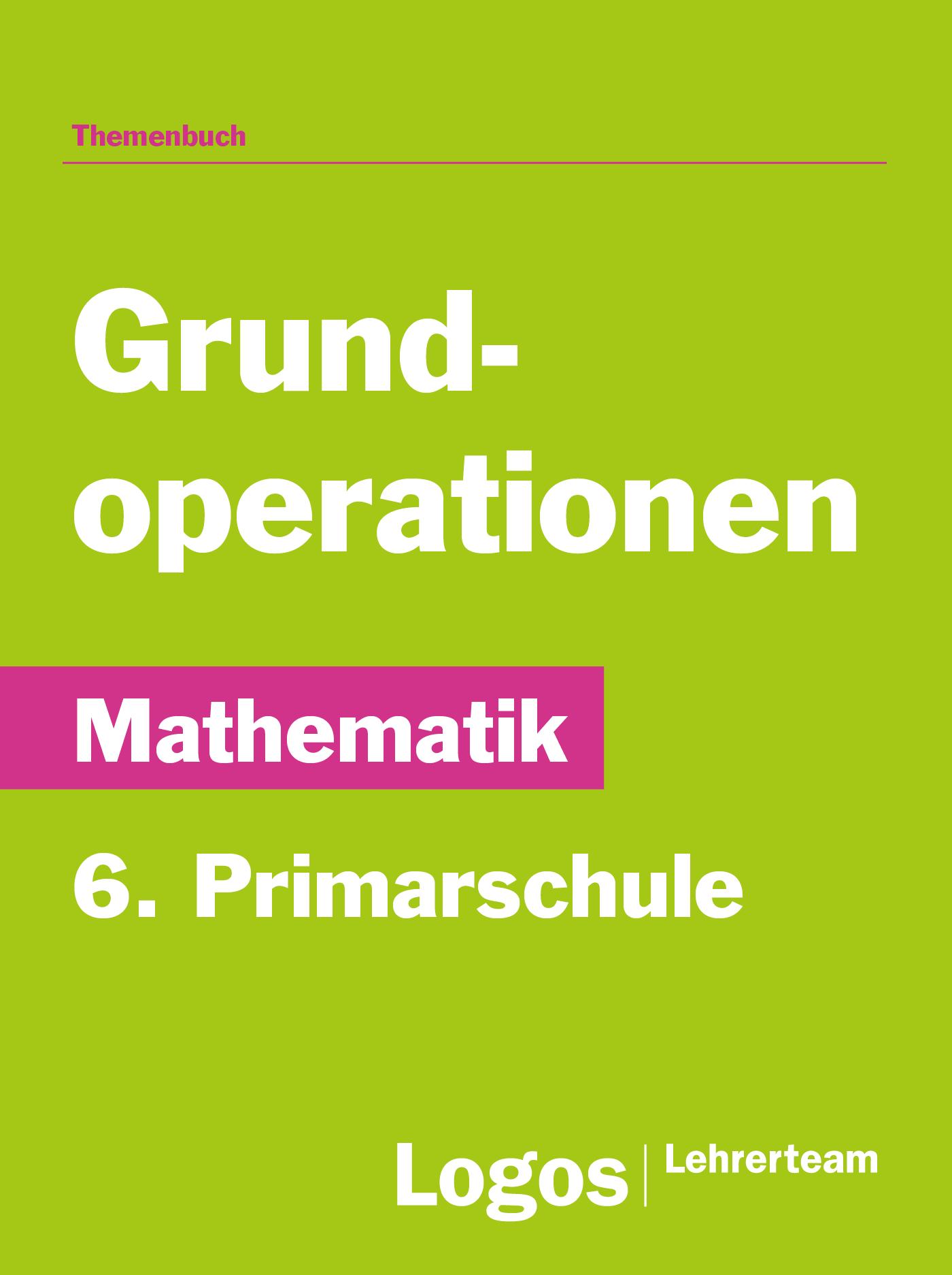 Mathematik Grundoperationen - Primar