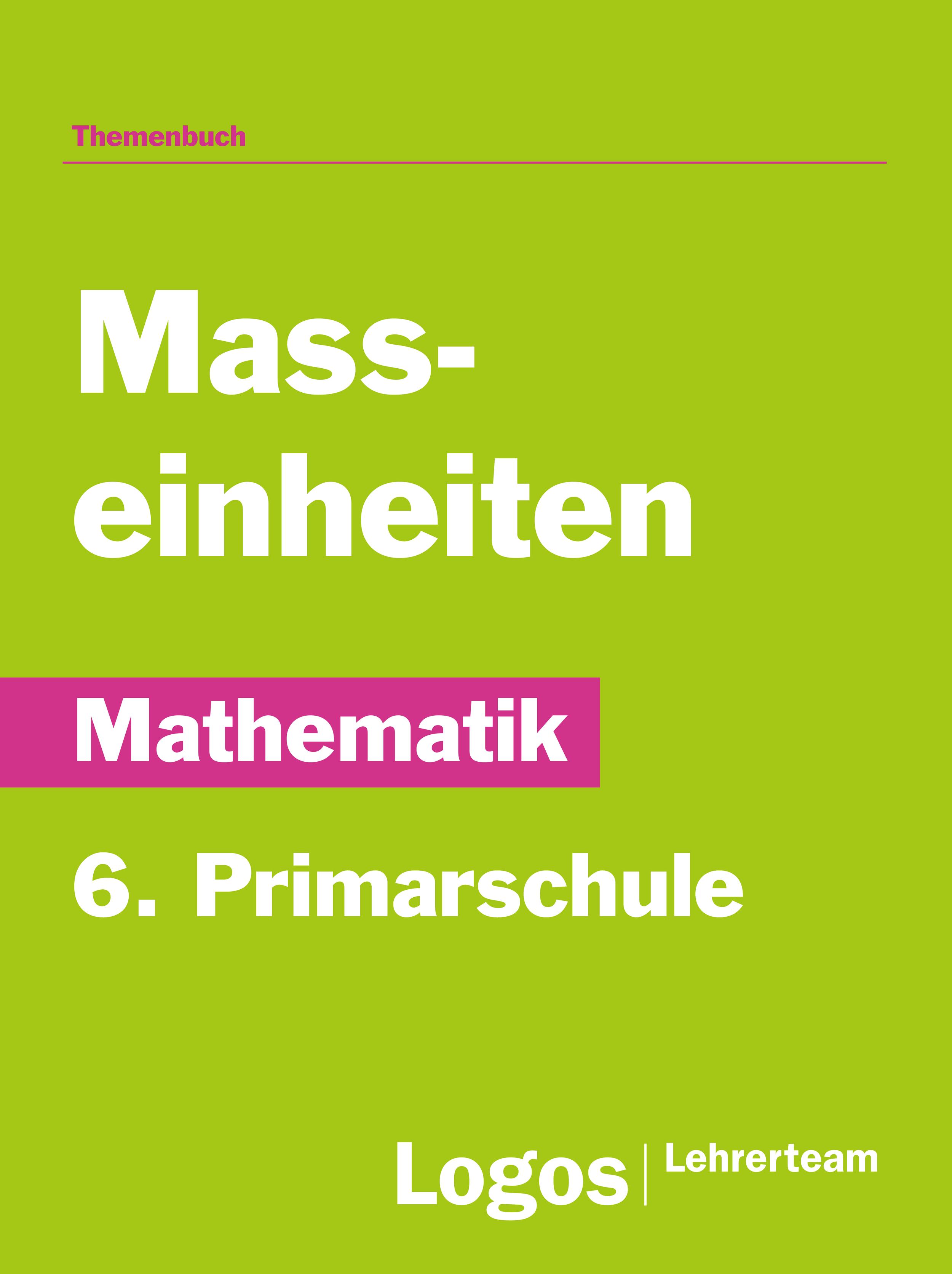 Mathe Masseinheiten - Primar