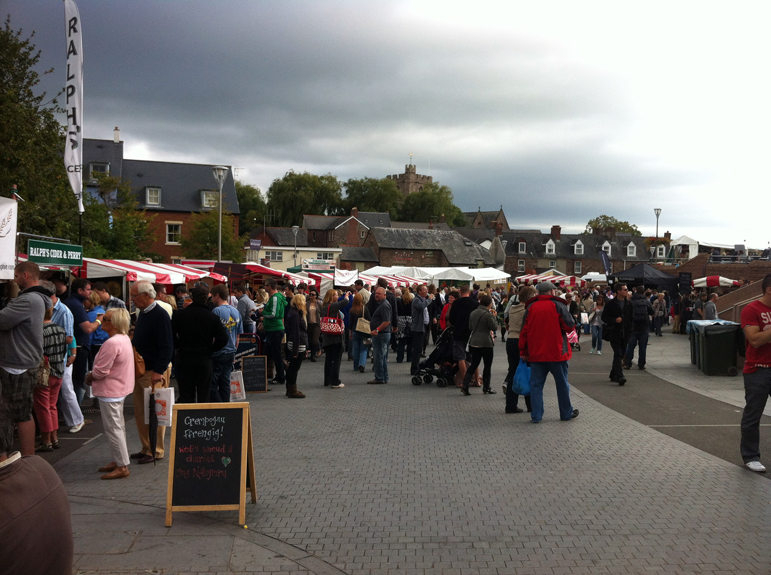 Abergavenny food festical.JPG