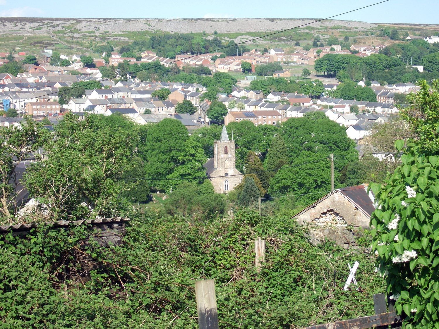Consider green space both within and outside the town