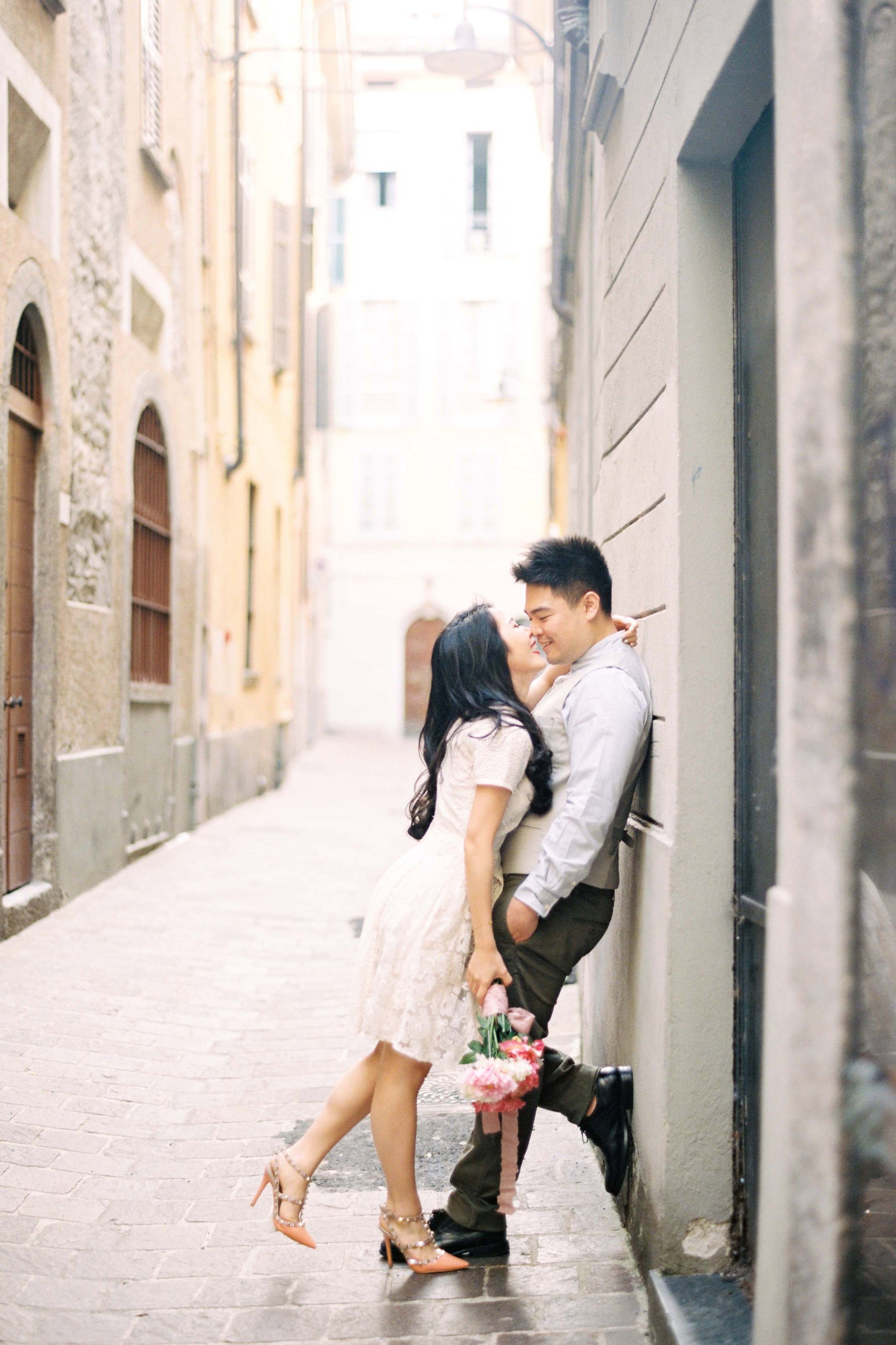 OUR DREAM CLIENTS:  Practically radiate joy  When two people really love to be together, it shows. And we love it.