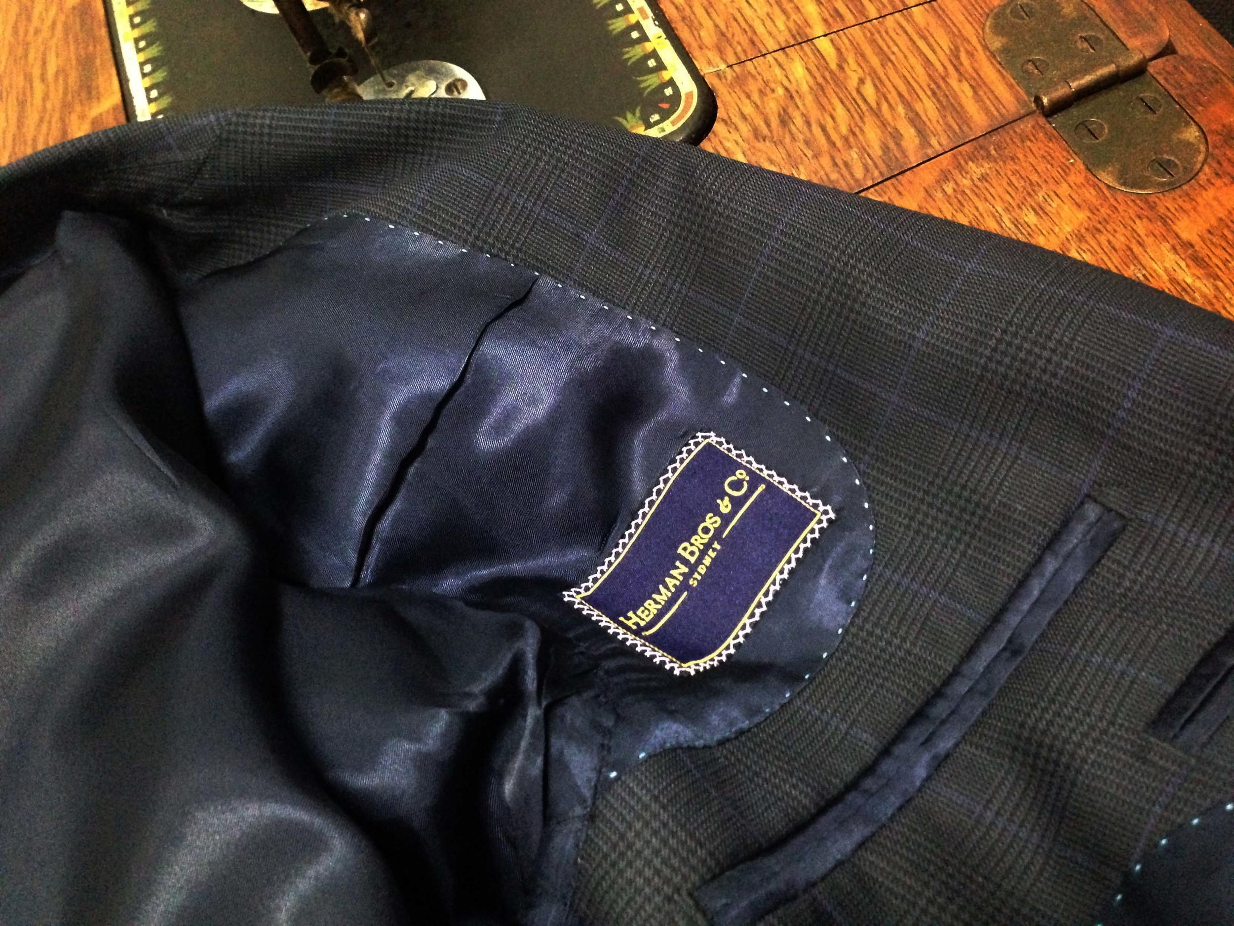 tailored suit sydney