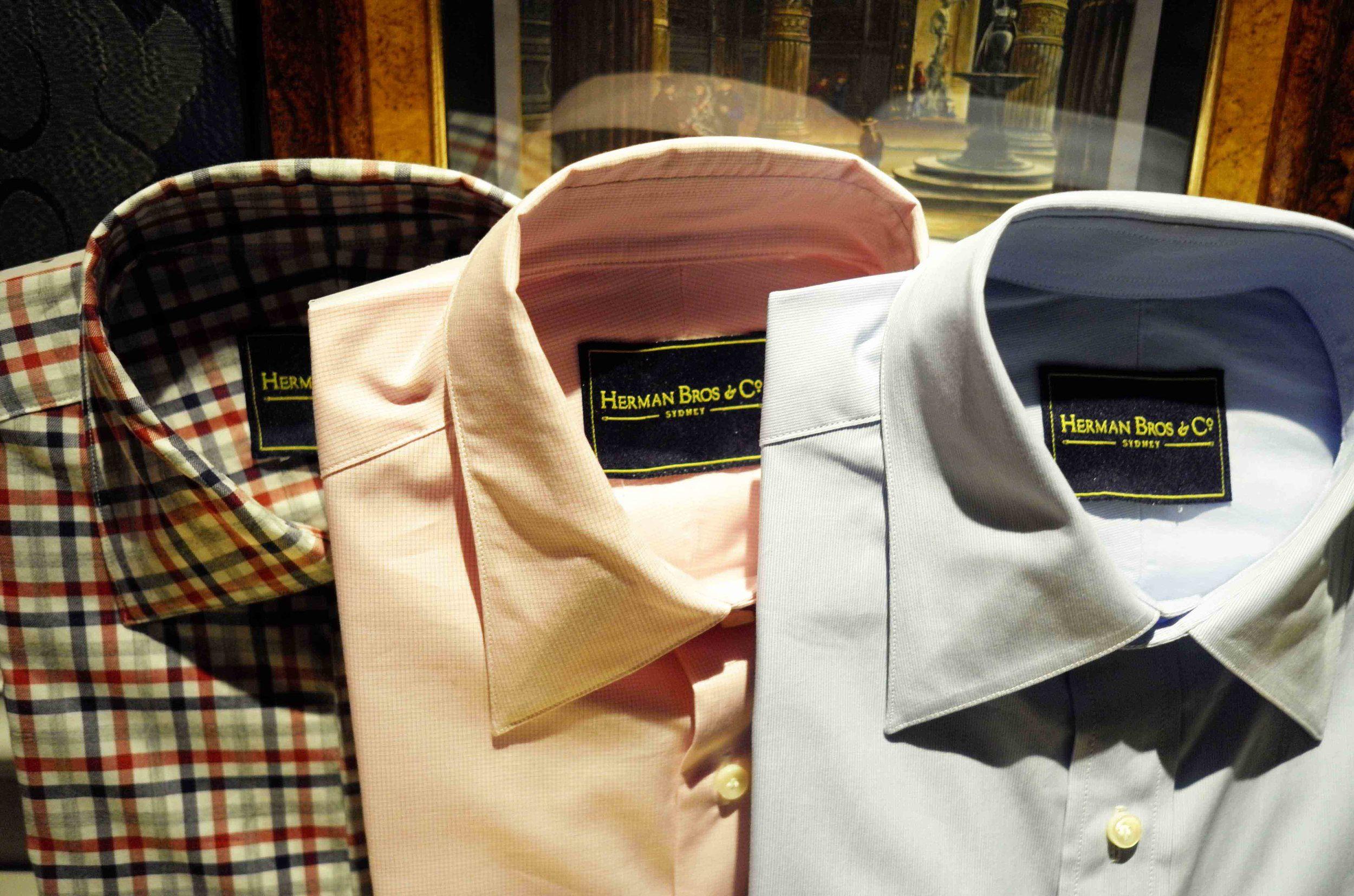 tailored shirts sydney