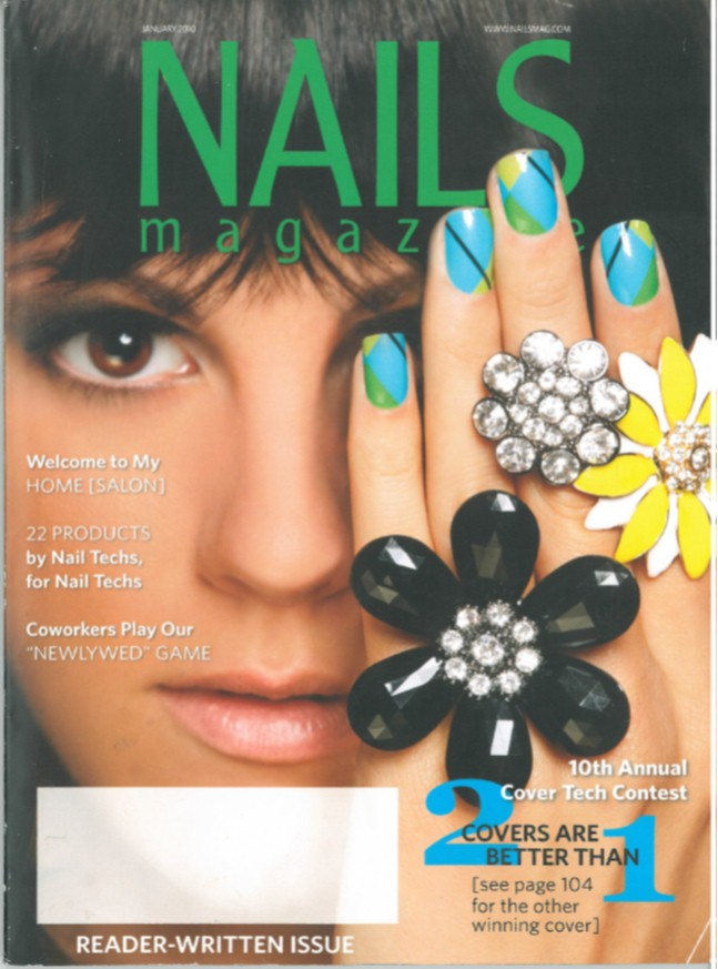 Nails Magazine January 2010.