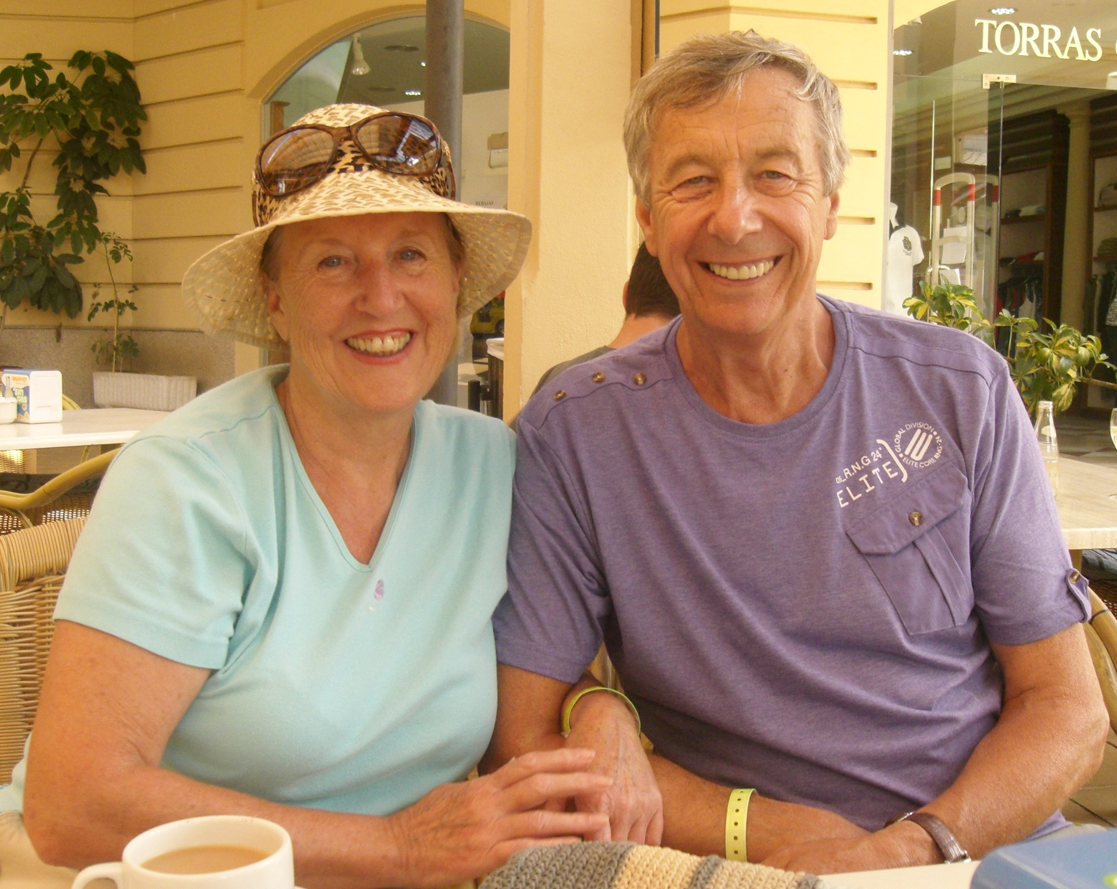 Shirley& Ron Celebrating their 5 year anniversary in 2015.